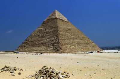 La pyramide génératrice d'ondes de formes